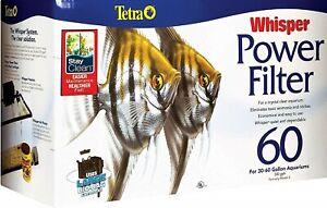 Tetra Whisper Power Filter 60 for Aquariums 30 to 60 Gallon Tank 330 gph flow