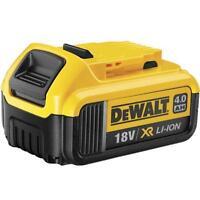Dewalt DCB182 18 Volt 4.0Ah Lithium Ion Battery - (Sold Loose)