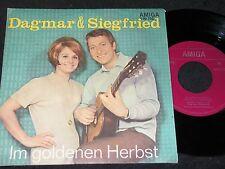 DAGMAR & SIEGFRIED Im goldenen Herbst & Der verlorene.../ DDR SP'68 AMIGA 450752
