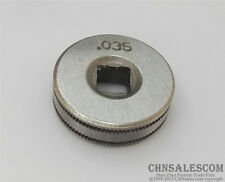 "Mig Welder Wire Feed Drive Roller Roll Parts 0.8-0.9 Kunrled-Groove .030""-.035"""
