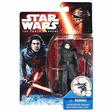 "Star Wars The Force Awakens Kylo Ren UNMASKED First Order MOC 3.75 inch"" 1st New"