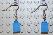 LEGO Earrings Blue Bricks 1x1  NEW!!!