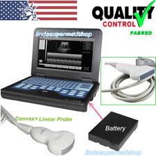 Digital Portable Laptop Ultrasound Scanner Diagnostic System Convex,Linear Probe
