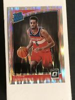 TROY BROWN JR. 2018-19 DONRUSS OPTIC RATED ROOKIE SHOCK PRIZMS RC #192