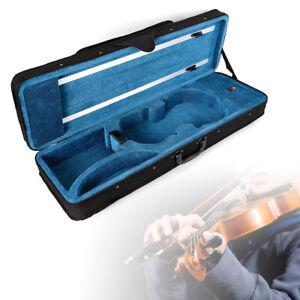 4/4 Geigenkoffer Geige Koffer Kasten Case Violinenkoffer mit Rucksackriemen SALE