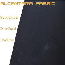 1Mx1.5M Black Alcantara Car Seat Fabric For BRIDE RECARO SPARCO EG EVO WRX S2000
