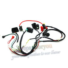 Fit For Zongshen 190cc Ignition CDI Kit Wiring Loom Harness Key Switch