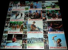 1982 Anno 2020 I Gladiatori del Futuro ORIGINAL LOBBY CARD SET Post Apocalyptic