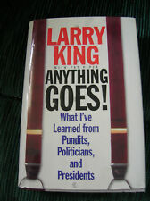 LARRY KING  ANYTHING GOES! ( WHAT I'VE LEARNED)