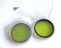 2 Vintage Panchromar Yellow Lens Filters 49 mm, Germany