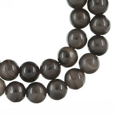 """15.75"""" Fossil Wood Agate Round Beads 6mm  #54050"""