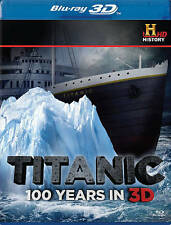 Titanic: 100 Years in 3D (Blu-ray Disc, 2012)