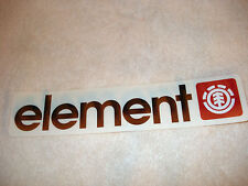 ELEMENT OG ICON LOGO LARGE SKATEBOARD STICKER