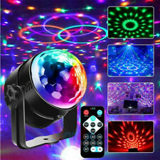 RGB Strobe Lamp DJ Rotating Ball Led Stage Laser Lights KTV Disco Club Party