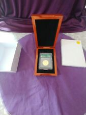 FIRST SPOUSE SERIES 2007W $10.00 GOLD ICG MS70 MARTHA WASHINGTON IN DISPLAY BOX