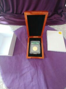 FIRST SPOUSE SERIES 2007W $10.00 GOLD ICG MS70 MARTHA WASHINGTON IN DISPLAY BOX