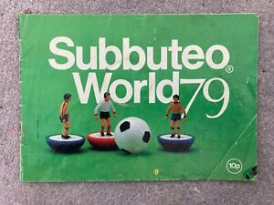 SUBBUTEO WORLD 1979 Brochure Catalogue Vintage retro