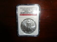 """2011 MS 69 American Eagle Silver """"Early Releases"""" - NGC"""