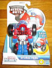 Transformers RESCUE BOTS OPTIMUS PRIME Vehicle Playskool Heroes MONSTER TRUCK