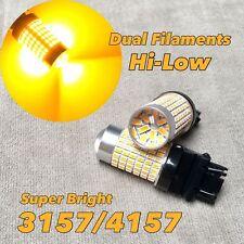 Brake Stop Tail Light AMBER CANBUS X1 LED Bulb T25 3057 3157 4157 CK W1 HA
