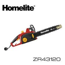 Homelite Zr43120 16 12 Amp Electric Chain Saw W Warranty Chainsaw