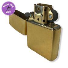 Vintage Zippo Lighter 2003 Copper/Brass A 03 USA Beautiful Patina Rare