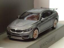 Minichamps BMW M4 GTS 2016 matt grau, orange wheels - 870 027100 - 1:87