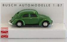 BUSCH HO scale - VW BEETLE in green - 1/87 fully assembled plastic model