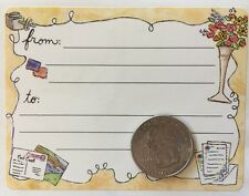 Garden Label Stickers(10pc)Frances Meyer•Mail•To/From• Writing •Journaling•Garden
