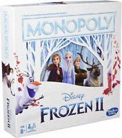 Monopoly Disney Frozen 2 Edición Juego de Mesa Mono Poliester Hasbro Juego