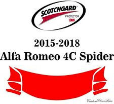 3M Scotchgard Paint Protection Film 2015 2016 2017 2018 Alfa Romeo 4C Spider