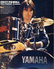 "KER#08PG40 11X8"" POLL WINNERS PIN UP POSTER : COZY POWELL DRUMMER"