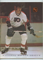 Vintage NHL Hockey Program 1972 Philadelphia Flyers Vancouver Canucks Rick Foley