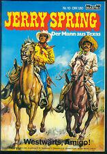 Jerry Spring nº 10 de 1972-primero original tirada siguen Western tebeo jijé