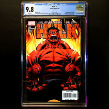 HULK Vol 2 #1 🔥 1st Appearance of RED HULK 🔥 CGC 9.8 - WHITE Pages