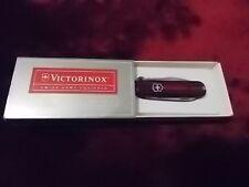Victorinox Swiss Army Signature II Translucent Ruby Boxed 54101