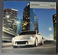 2009 Nissan 370Z Coupe Catalog Sales Brochure Touring Excellent Original 09