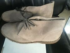 J Crew McAlister Suede Boots Shoes Anchor Grey Size Men's 8 NIB