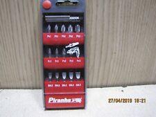 Black & Decker Screwdriver Hex Drill Bit Holder Set PZ1 PZ2 PZ3 PH1 PH2 PH3 Flat