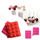 Mold Pop Cake Lollipop Mould Stick Mould Cupcake Baking Party Silicone Tray