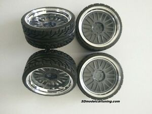 1:18 Scale BBS LM LEMANS 19 INCH TUNING WHEELS, wheellogos now included!!
