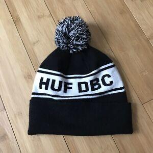 Huf DBC Pom Knit Skateboard Beanie Hat