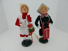 Byers Choice Carolers 1996 The Christms Dove Boy & Girl Very Good Condition