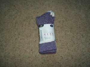 CRANE 2 Pairs Outdoor Wool Blend Thermal OEKO-TEX Socks - WOMEN'S SZ L 9-11 NWT