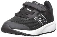 New Balance Children Shoes 455 V2 Alternative Closure, Black/White, Size 11.5 P1