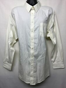 JOSEPH AND FEISS 80'S TWO PLY PINPOINT OXFORD LONG SLEEVE SHIRT.SIZE 19 (34/35)