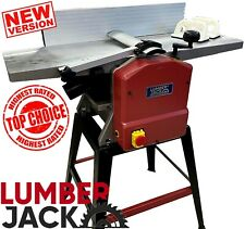 Lumberjack Professional Planer Thicknesser 10 x 5 Inch with Legstand 1500W  230V