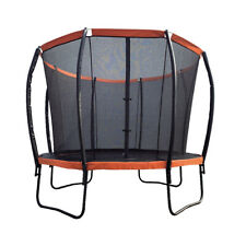 10 Ft Outdoor Yard Trampolines Super Bounce with Safety Net Enclosure and Ladder