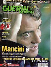 Guerin Sportivo.Roberto Mancini,Paolo Borea,Rodrigo Taddei,Giuseppe Rossi,iii