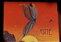 OOP Erte Embellished Art Greeting Cards Box of 24 SEALED